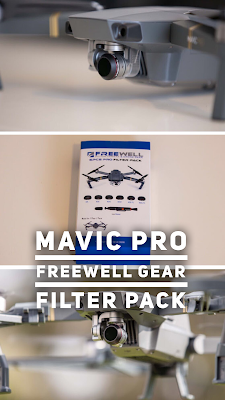 Freewell Gear | DJI MAVIC FILTER 6-PACK | 4K-Series | Review | ND Filter für DJI-Mavic-Pro-Drohne