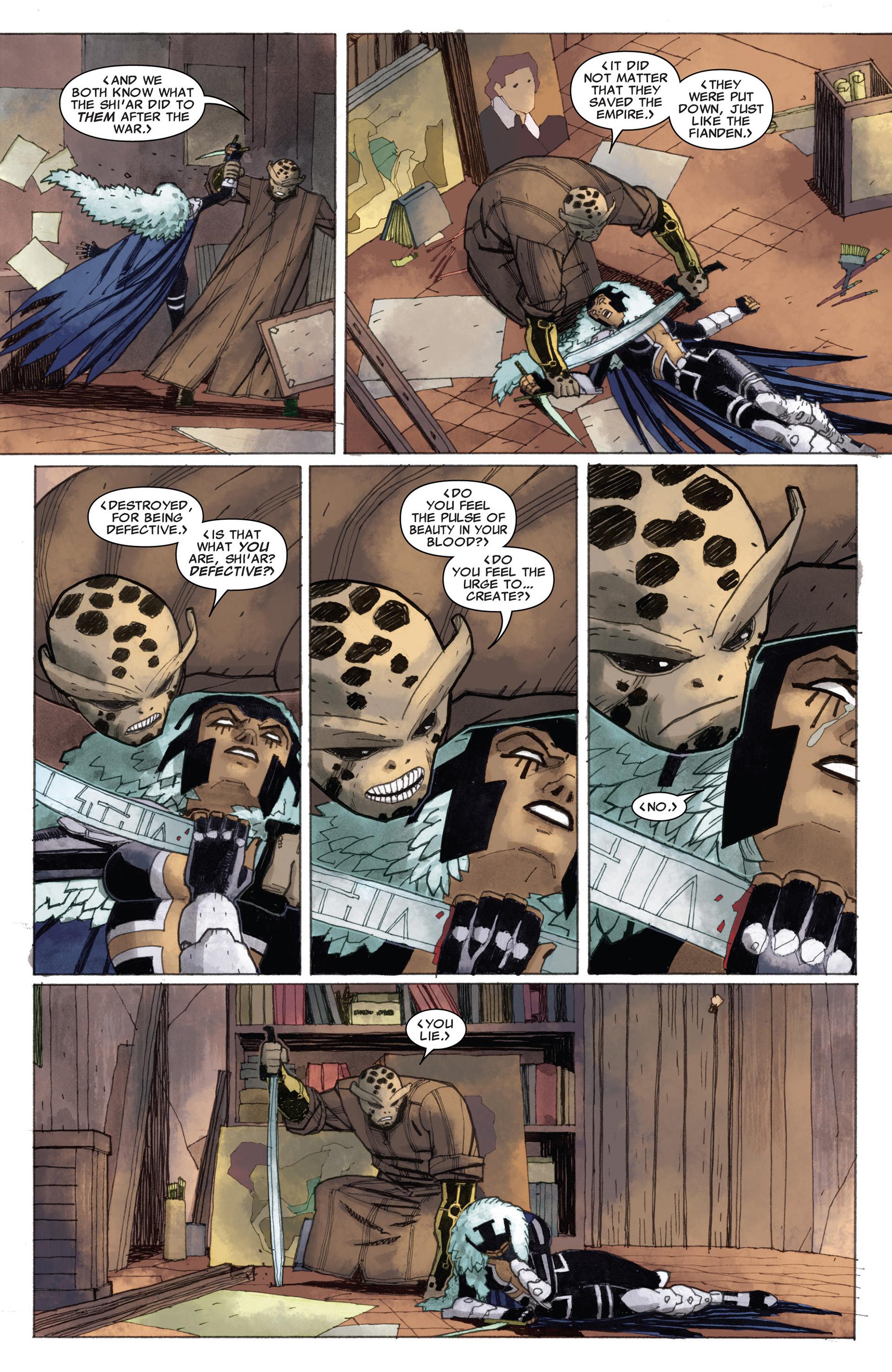 Read online Astonishing X-Men (2004) comic -  Issue #58 - 5