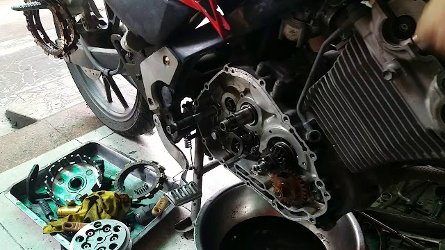 Chuyên làm máy xe suzuki satria 150
