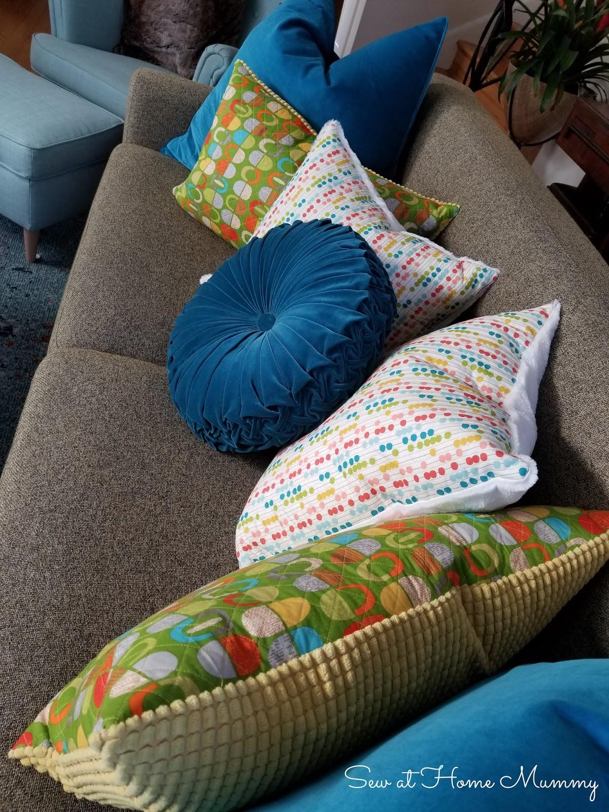 midmod throw pillows ikea gullklocka
