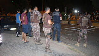 Adıyaman'da Polislere Saldırı