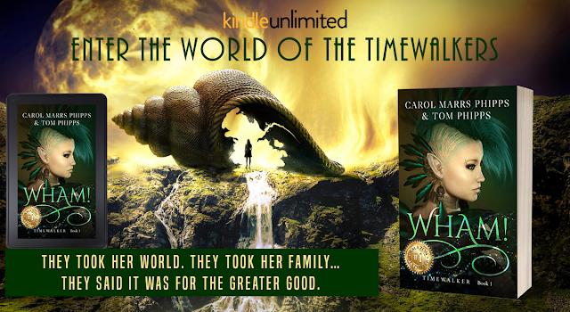 WHAM! Fantasy Novel by Carol Marrs Phipps
