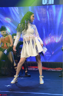 Sunny Leone Dancing on stage At Rogue Movie Audio Music Launch ~  030.JPG