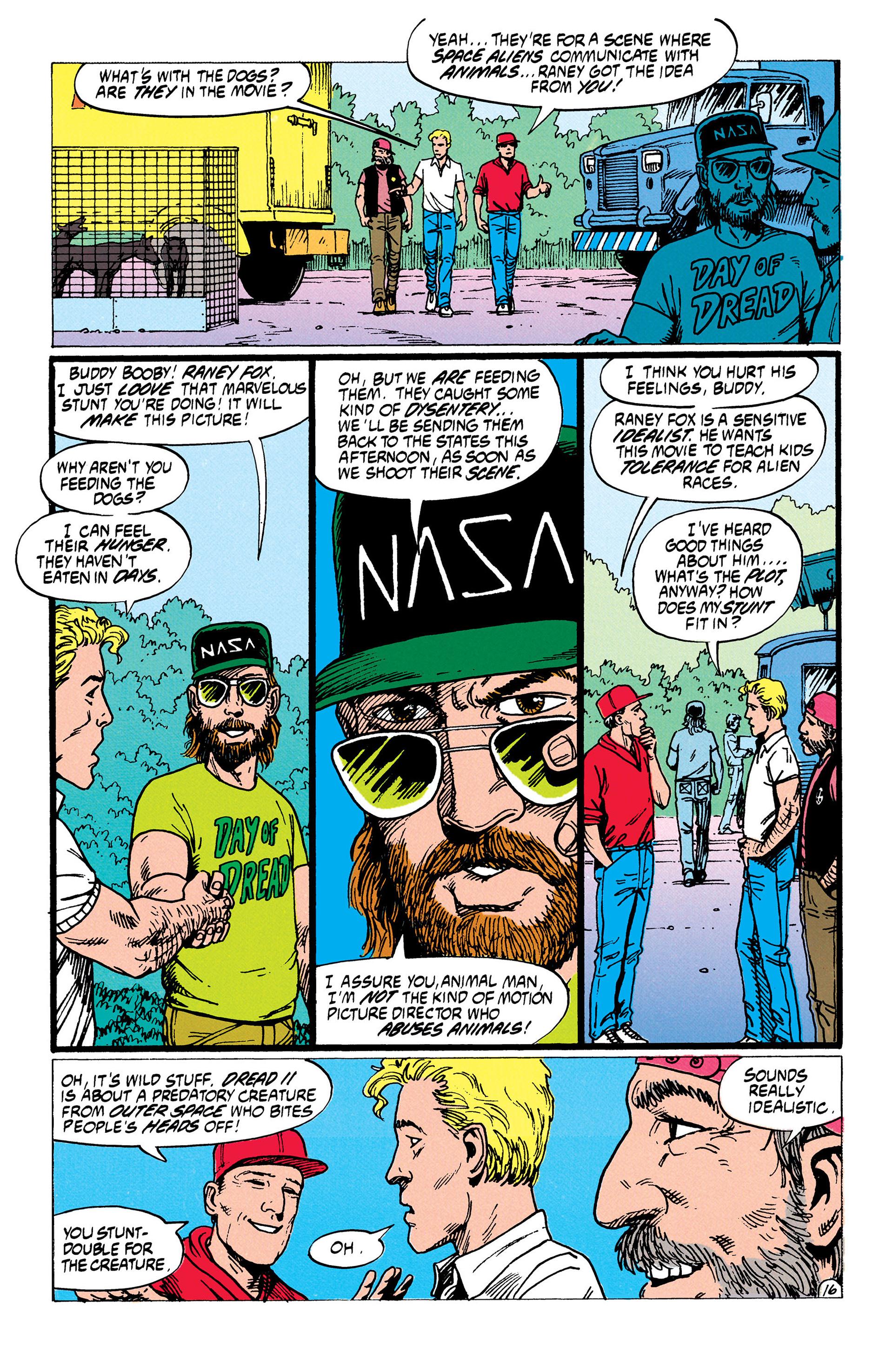 Read online Animal Man (1988) comic -  Issue #35 - 17