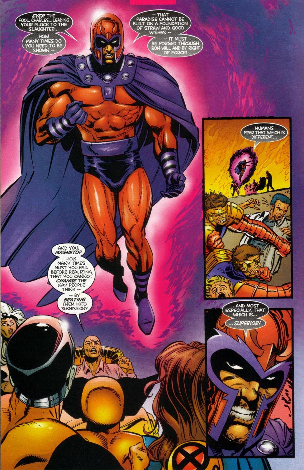 Read online X-Men: Magneto War comic -  Issue # Full - 6