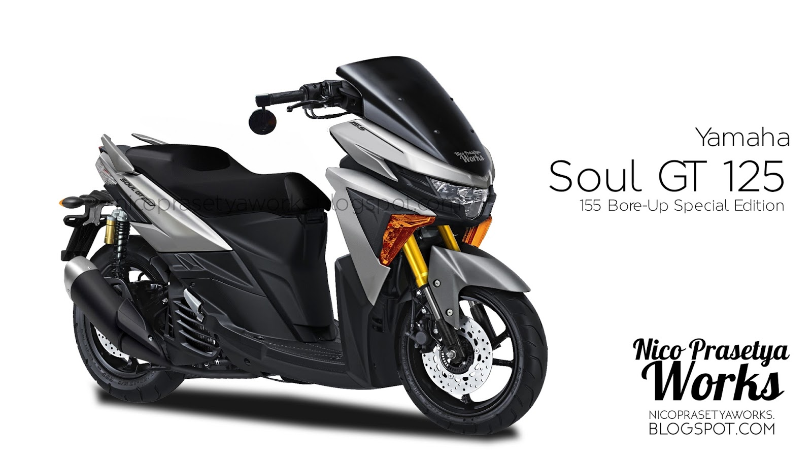 Yamaha Soul Gt 125 Special Edition