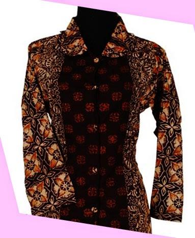 Model Baju Batik Wanita Sederhana Cantik Dan Terbaru