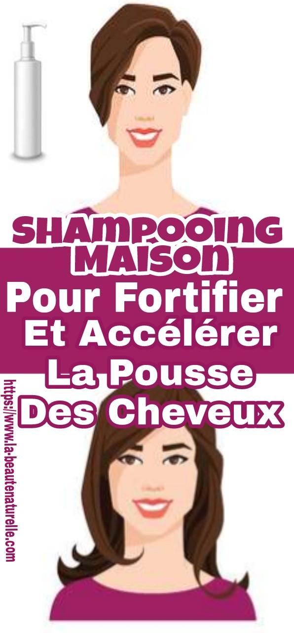 Shampooing maison pour fortifier et accélérer la pousse des cheveux
