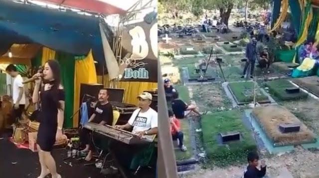 pernikahan, kuburan