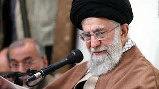 "The supreme leader of Iran blames the ""enemies"" for the protests that leave 21 dead"