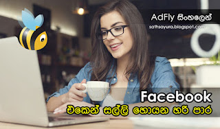 ෆේස්බුක් එකෙන් සල්ලි හොයන හරි පාර - Right way to make money from Facebook - සත්සයුර (sathsayura.blogspot.com)