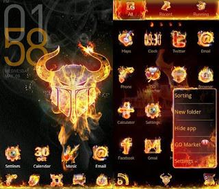 firework go launcher ex themes