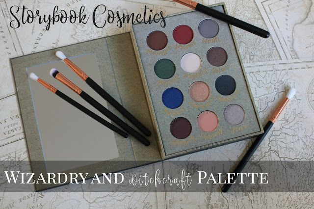 Storybook Cosmetics: Wizardry and Witchcraft Palette