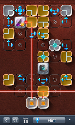 Solution for Laser Box - Puzzle (Advanced) Level 16