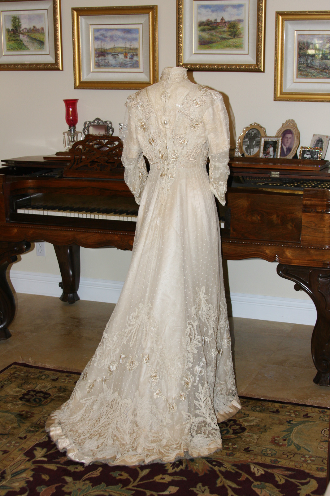 All The Pretty Dresses: Stunning Edwardian Wedding Gown
