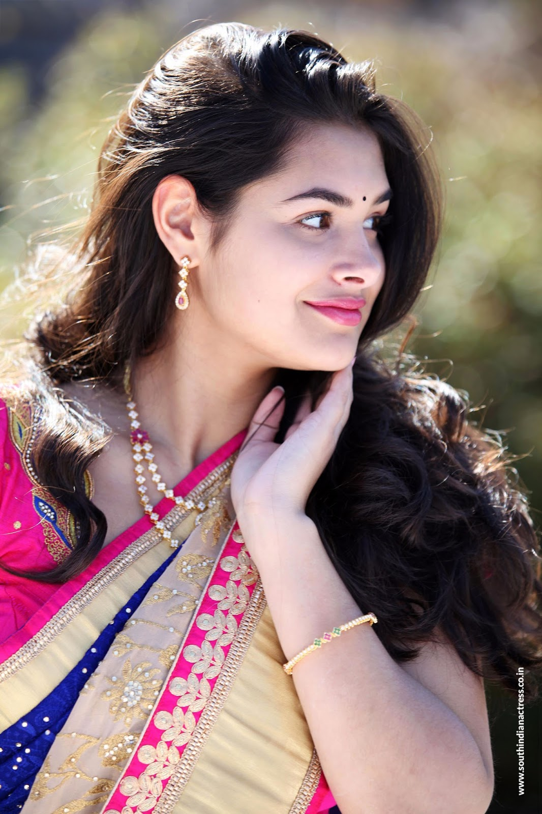 Divi prasanna in saree photos south indian actress - Divi builder 2 0 7 ...