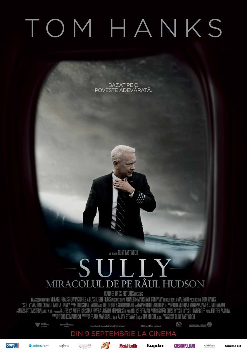 Sully, miracolul de pe Hudson, silviu pal blog, freeman entertainment, cinema city