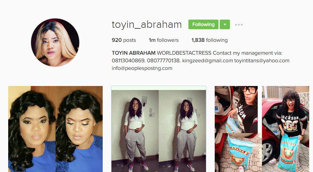 Actress Toyin Aimakhu changes name to Toyin Abraham