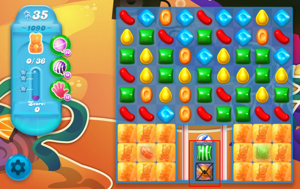 Candy Crush Soda Saga level 1090