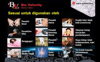 harga murah tilam bio velocity sleep mate 2019 cod kuala lumpur