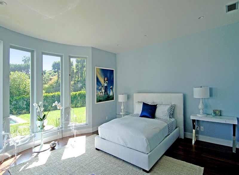 warna cat interior biru 3