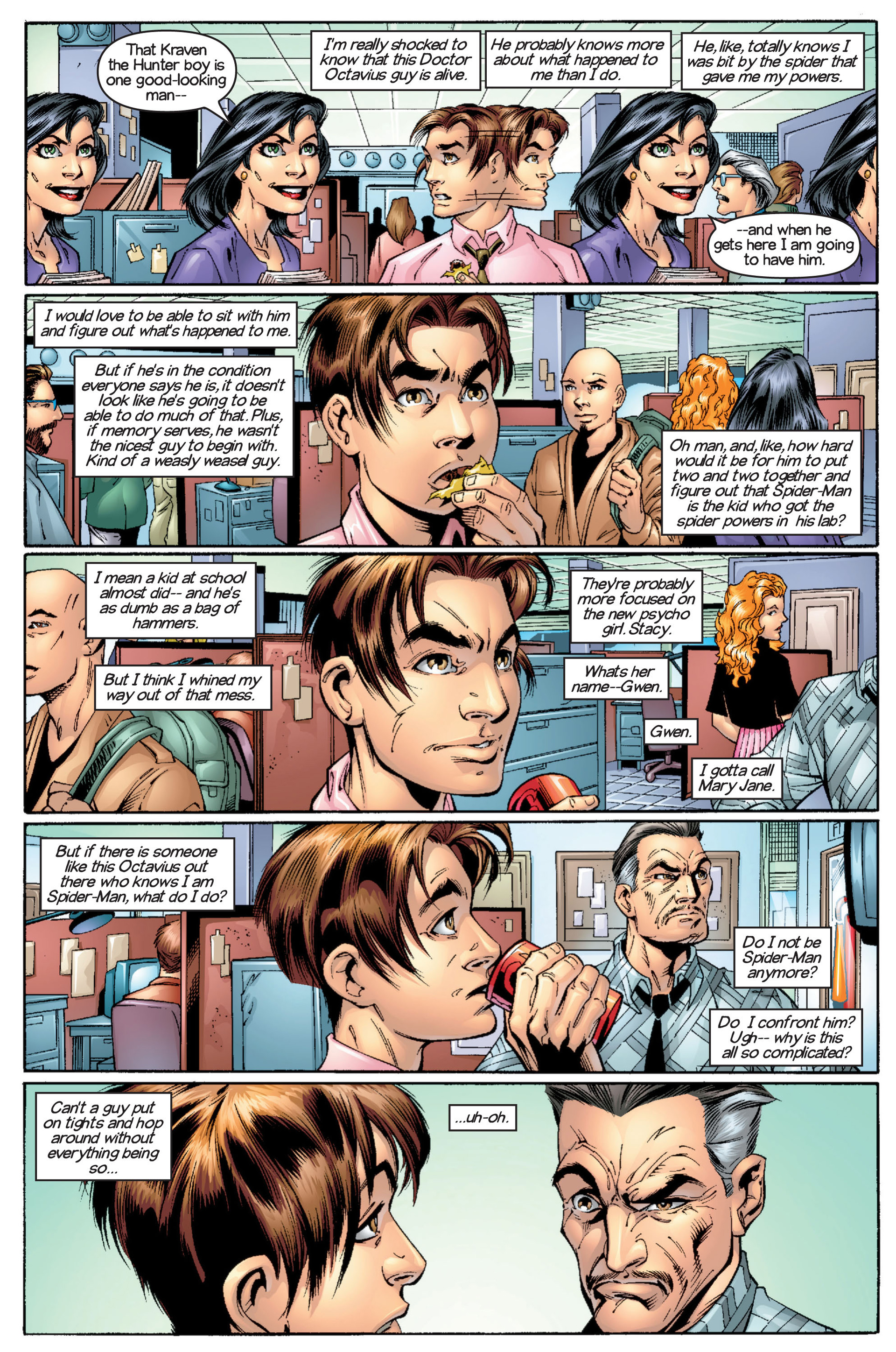 Read online Ultimate Spider-Man (2000) comic -  Issue #16 - 7