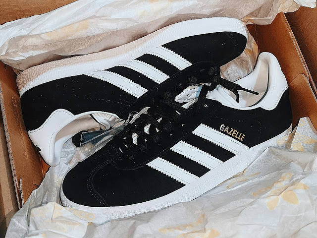 Adidas Gazelle in Black