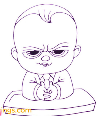 How to Draw Boss Baby