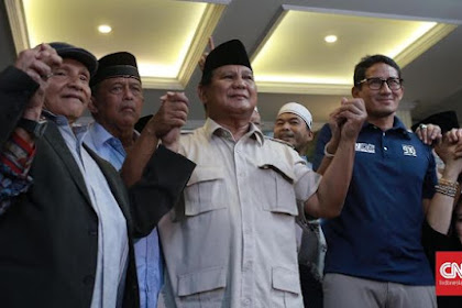 Ternyata Inilah Alasan Prabowo-Sandi Deklarasi Kemenangan Lebih Awal