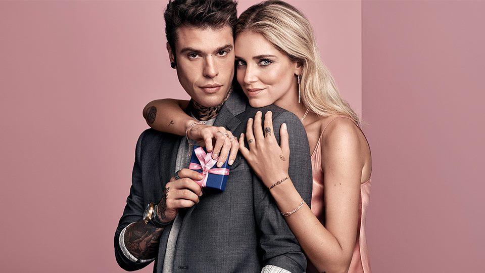 Chiara Ferragni and Fedez - Swarovski 2018 Valentine's Day Campaign