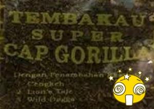 Bahan Dasar Tembakau Super Cap Gorilla Yang Bisa Bikin Gila