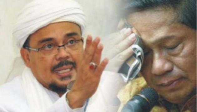 Rizieq Tersangka, Jokowi Unjuk Gigi, SBY Ketar-Ketir