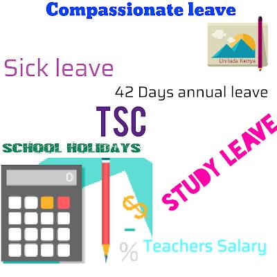 Tsc study leave