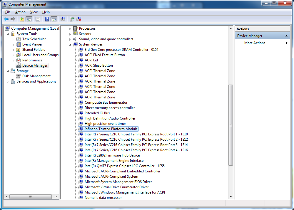 TPM driver problems | SCCM and SharePoint Blog