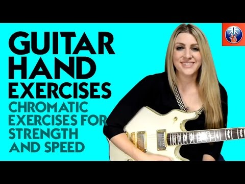 stephanie pickard guitar hand exercises chromatic exercises for strength and speed. Black Bedroom Furniture Sets. Home Design Ideas