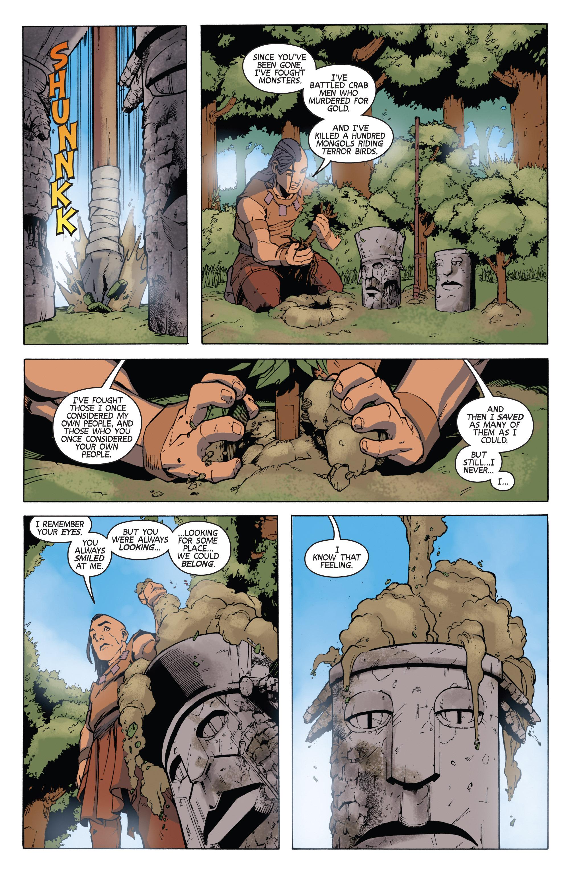 Read online Turok: Dinosaur Hunter (2014) comic -  Issue # _TPB 3 - 17