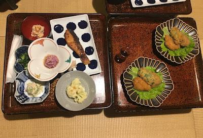 宝巌堂の夕食その1