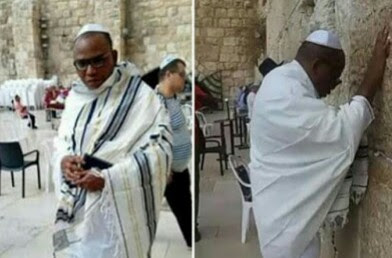 Nnamdi Kanu Travel Document Expires, to stay longer in Israel
