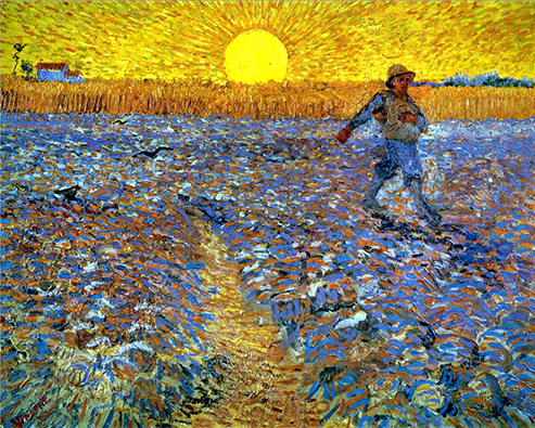 vincent-van-gogh-paintings-starry-night-museum-artwork-phrases-quotes-canvas-Sower-at-sunset-1888