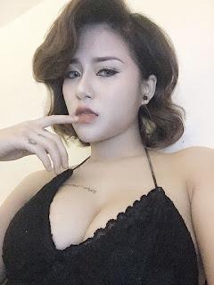 Gái xinh facebook DJ Linh Kem