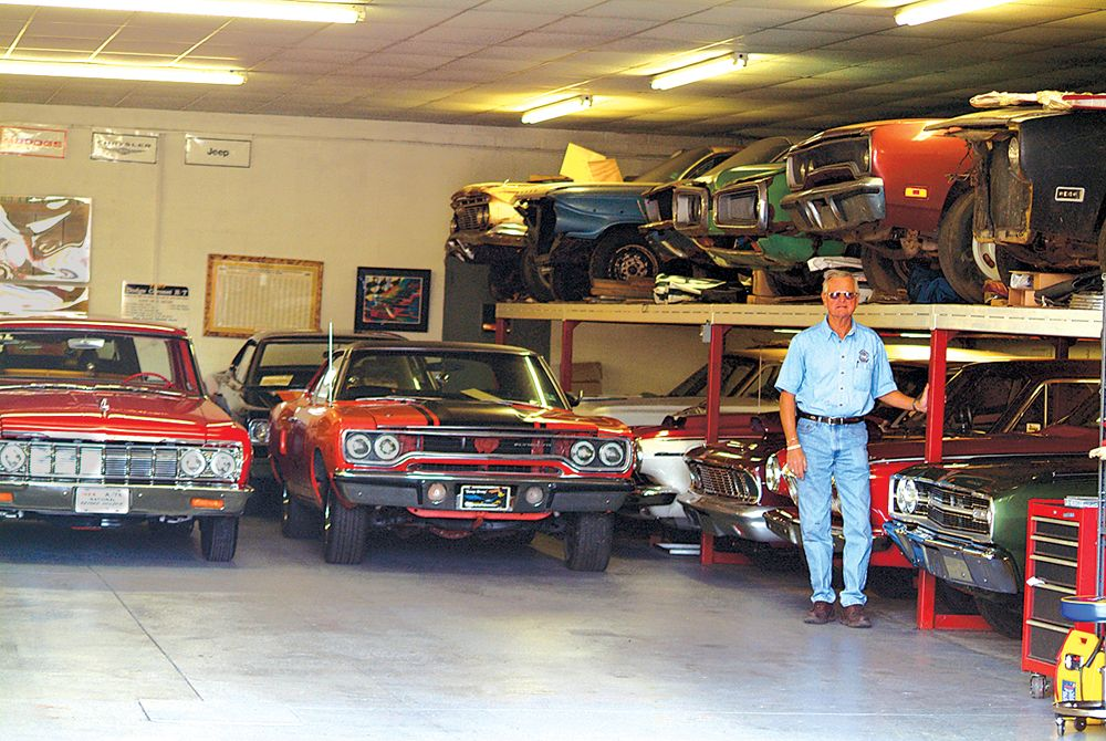 Just A Car Guy Probably The Best Collection Of Muscle Cars And
