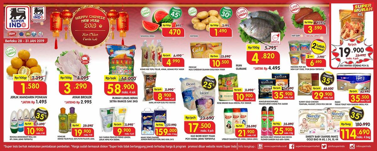 #Superindo - #Promo #Katalog IMLEK Periode 28 - 31 Jan 2019