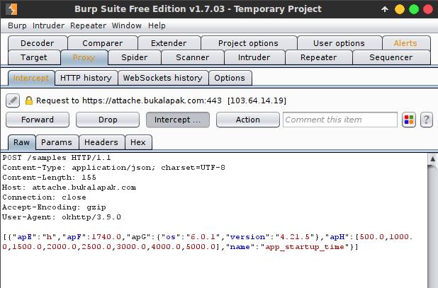 Menghubungkan Burp Suite dengan Android Device
