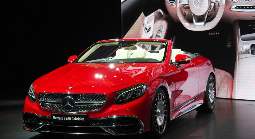 2017 Mercedes-Maybach S 650 Cabriolet Concept, Review, Exterior, Interior, Engine, Performance, Release Date and Price