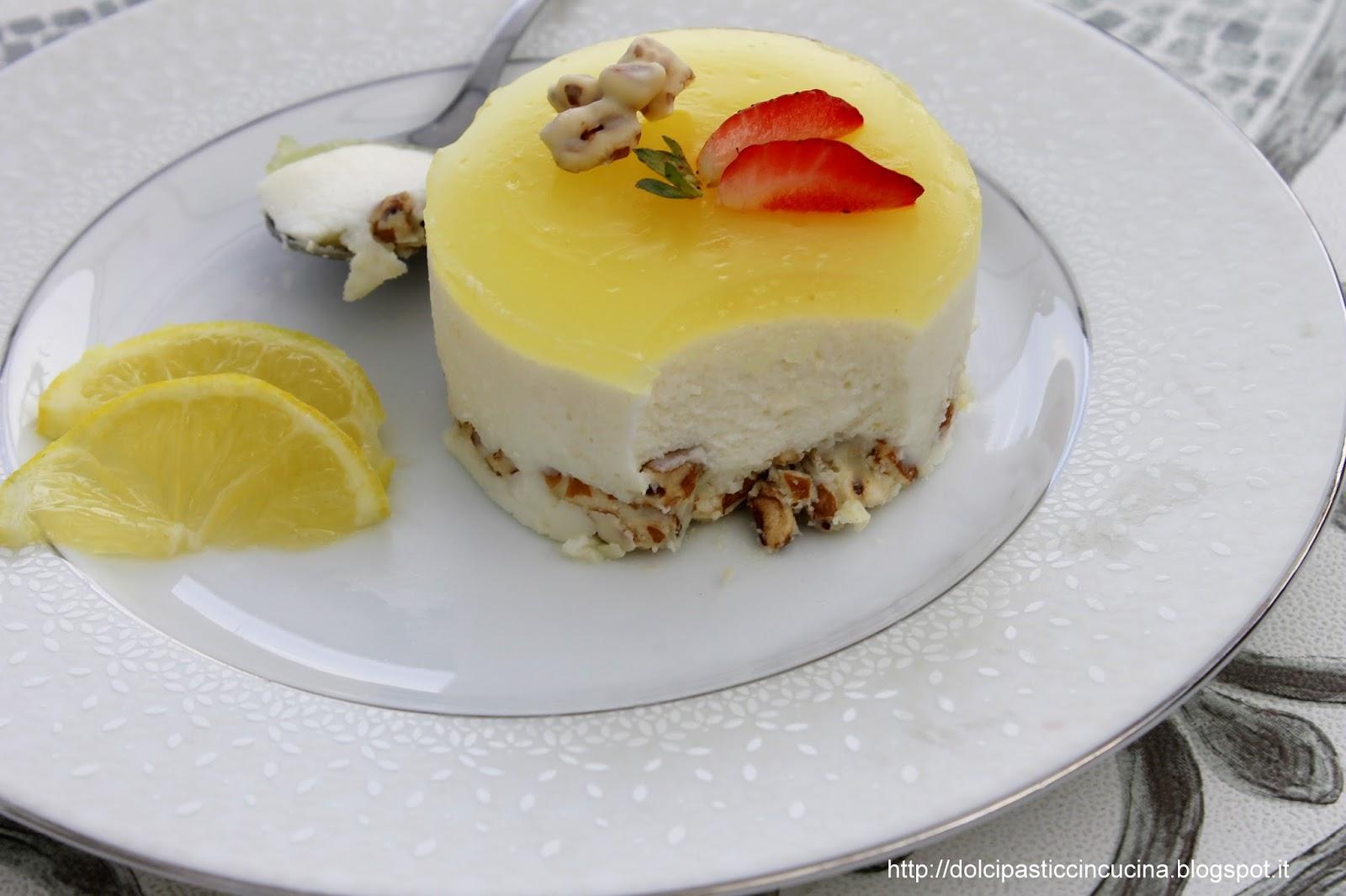 Famoso InCucinaColCuore: Cheesecake senza cottura al limone e cioccolato  VB83