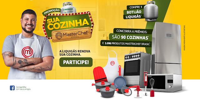Promoção Liquigás | Sua Cozinha Masterchef