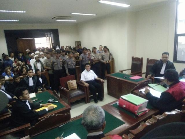 Abraham Ben Moses Divonis 4 Tahun Penjara