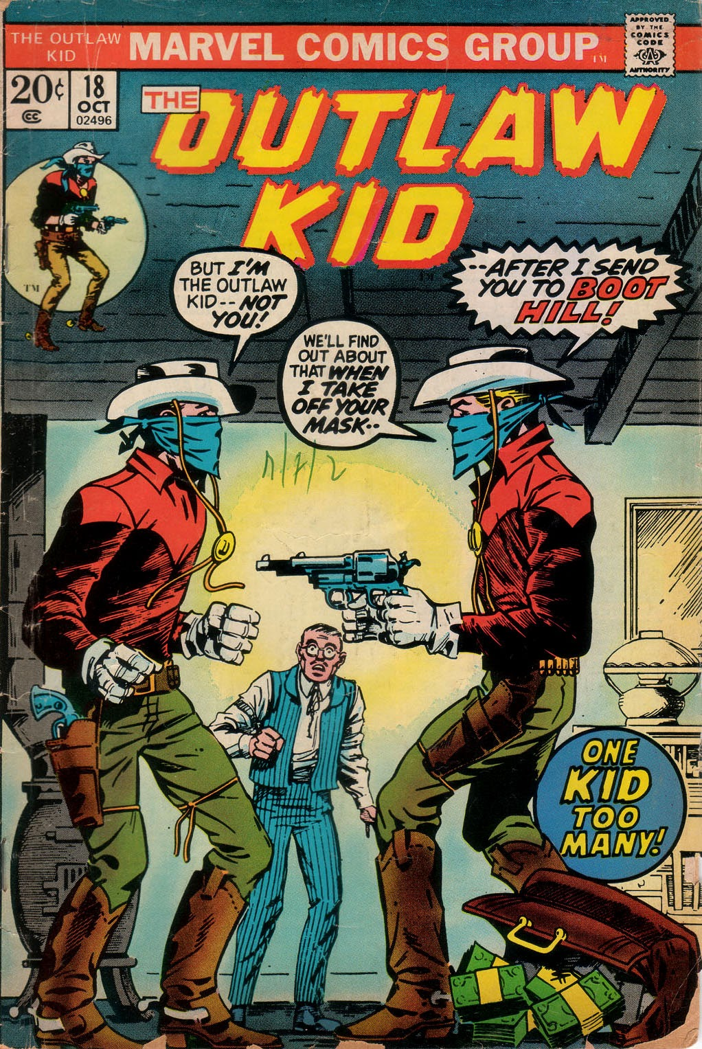 The Outlaw Kid (1970) issue 18 - Page 1