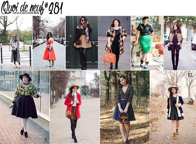 quoi de neuf sur la blogosphère mode, looks de blogueuses