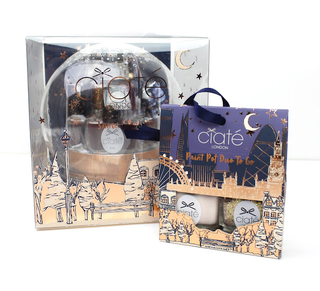 Ciate Ciaté London Holiday Packs Snow Globe 2016 Christmas Paint Pot Duo Review